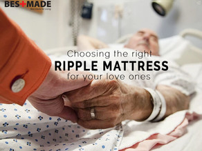 Choosing the right ripple mattress for your love ones