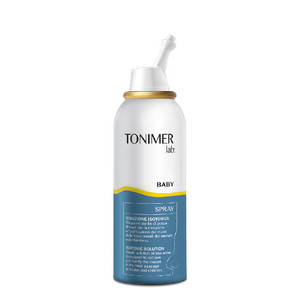 TONIMER LAB BABYISOTONIC NASAL SPRAY 100ML BABY DAILY NOSE CLEANING