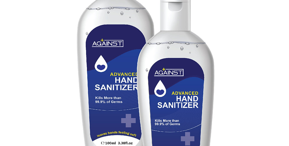 AGAINST ADVANCED HAND SANITIZER