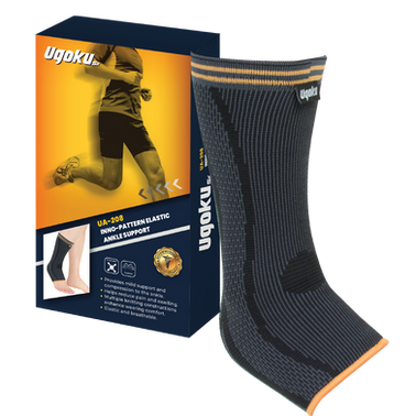 UGOKU INNO-PATTERN ELASTIC ANKLE SUPPORT