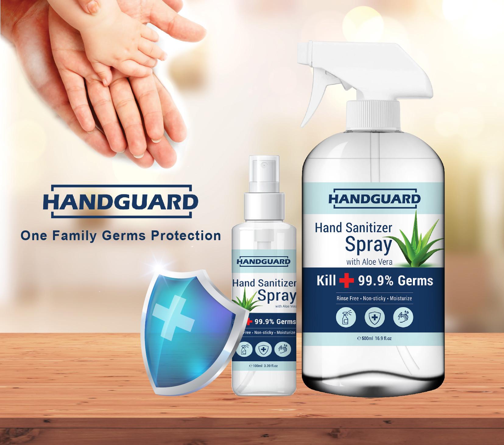 Handguard hand sanitizer spray POSM_7.jp