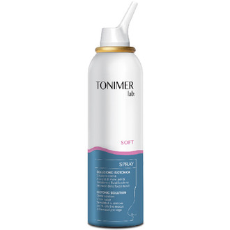 TONIMER LAB ISOTONIC NASAL SPRAY (SOFT) 125ML DAILY NOSE CLEANING