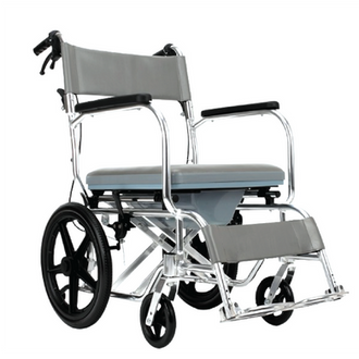 MOVEN 4 IN 1 MULTI-FUNCTION COMMODE WHEELCHAIR
