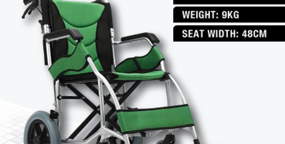 MOVEN TRANSIT WHEELCHAIR (titanium aluminium frame wheelchair)