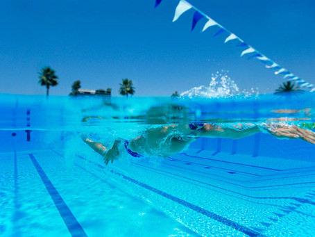 Swimming and Stress Relief