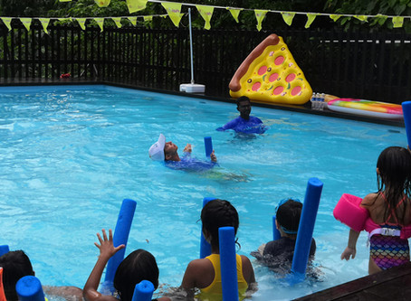 Top Five Tips To Get Your Toddler's Swimming Lesson Mojo Back