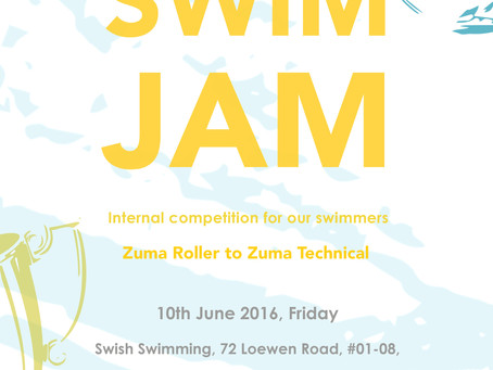 SWIM JAM - SWISH's First Swim Meet