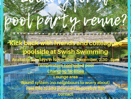 Did someone say Pool Party..