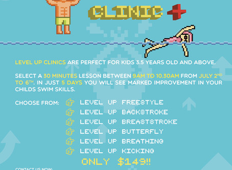Level Up Clinic - intensive program