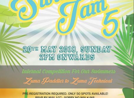 Mark your Calender for Swim Jam 5