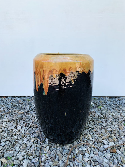 Black & Bronze Planter