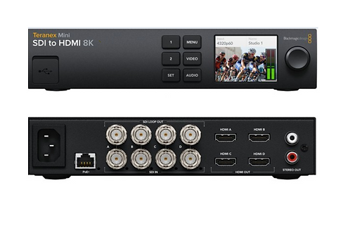 BMD Teranex Mini - SDI to HDMI 8K HDR