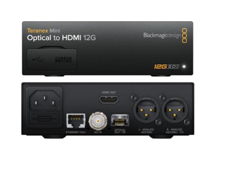 BMD Teranex Mini - Optical to HDMI 12G