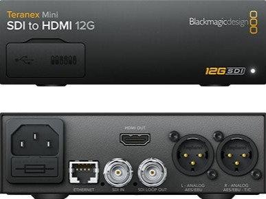 BMD Teranex Mini - SDI to HDMI 12G