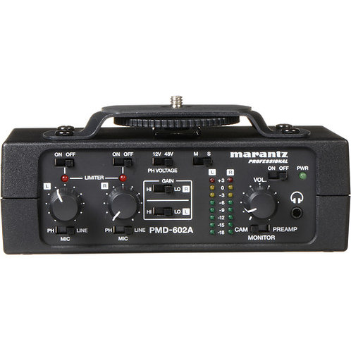 Marantzpro PMD-602A - (2-Channel DSLR Audio Interface)