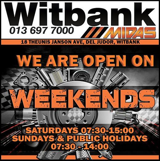 Witbank Midas, Midas Online, Midas, business hours, open, witbank, automotive