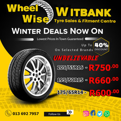 Witbank Wheel Wise Specials