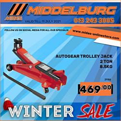Middelburg Midas Trolley Jack