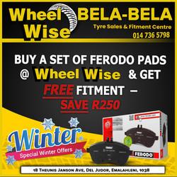 Bela Bela Wheel Wise Special