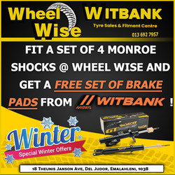 Witbank Wheel Wise Special
