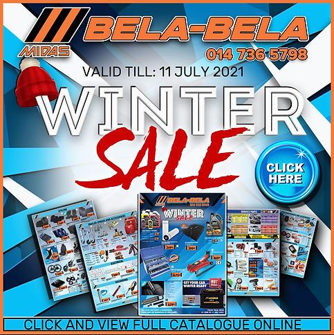 Midas, Online Midas, Bela Bela, Warmbad, Winter Sale, Catalogue, automotive, car, service kit, oil, sale, spares,tools