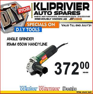 Midas kliprivier, Kliprivier Auto spares, autozone, angle grinder, power tools, special