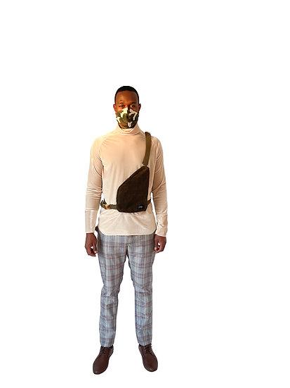 Waxed Shoulder Bag
