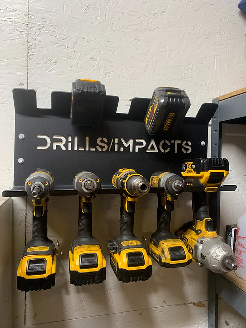 Drill/Impact and Battery Organizer