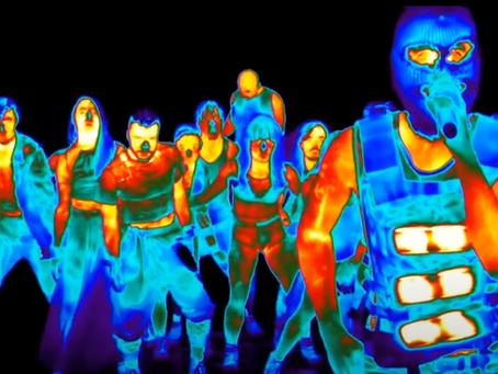 Imagens infravermelhas no entretenimento