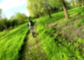 Activité nature, randonnée sportive et de loisirs, vélo et trottinette électrique, Angers, Anjou, 49
