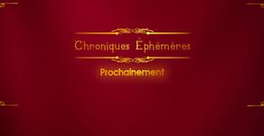 Soutenez Chroniques Éphémères