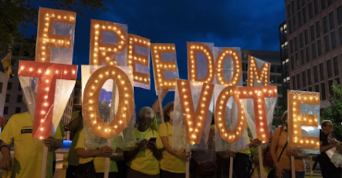 10/11/21 - MO Mondays - Make your voice heard--voting rights, abortion access, fair redistricting!
