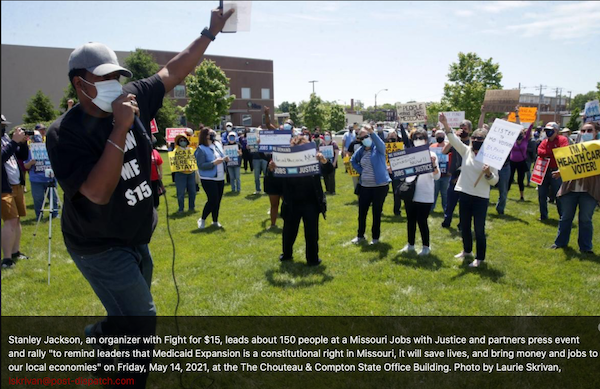 06/21/21 - Missouri Mondays - Tell Gov. Parson and MO GOP to stop playing politics with lives!