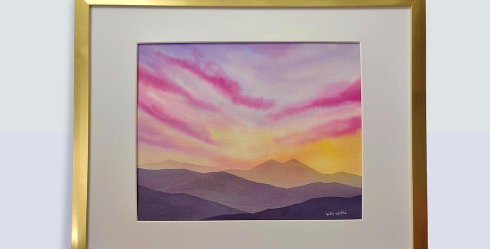 """""""June 25th"""" - Original Watercolor - 8x10"""