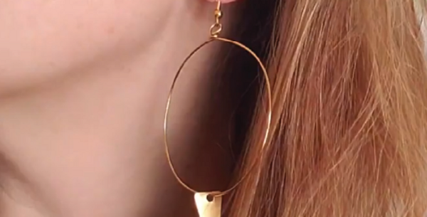 Funky Hoops with Spikes