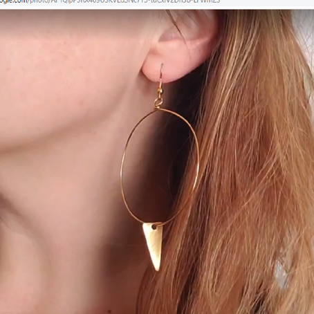 How to Make Earrings - Funky Hoops with Spikes