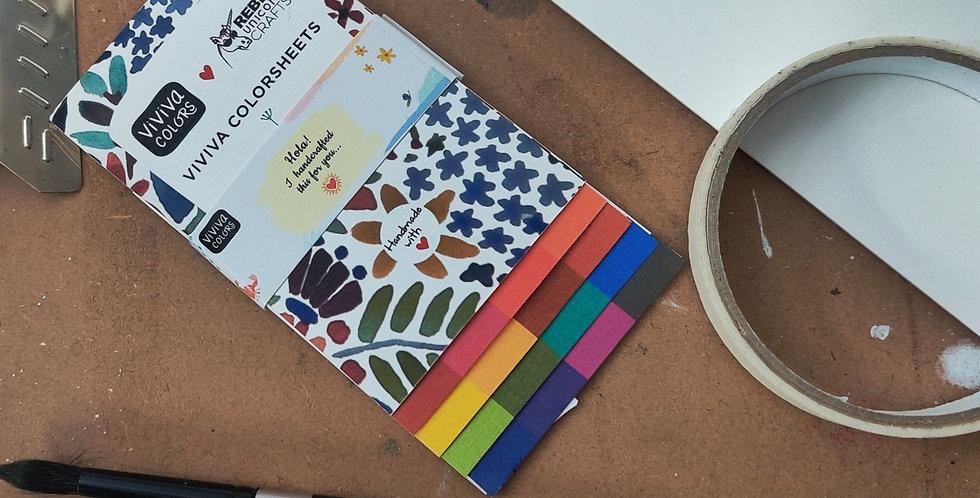 Viviva Color Sheets (Rebel Unicorn Crafts Edition!)