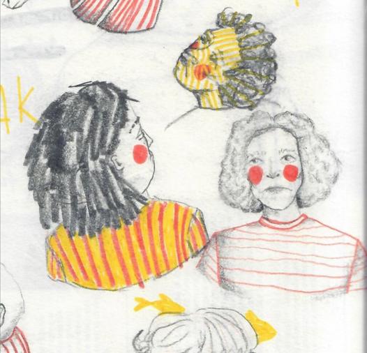 Illustratie voor LOLA - Gloria Monserez
