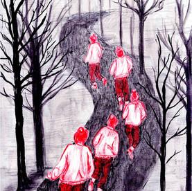 Illustratie voor JITSE - Iracema Steurs