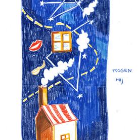 Illustratie voor ANAIS - Tosca huis ster