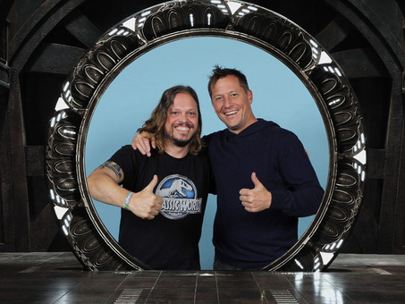 Meeting Stargate Legends:  Corin Nemec