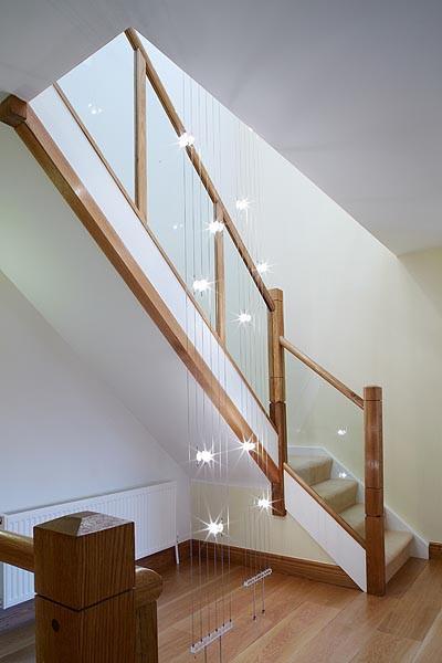 Contemporary Home Staircase Photo Courtesy of Nina Kati