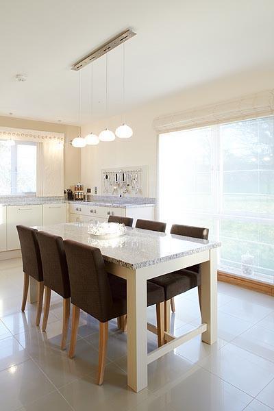 Contemporary Kitchen Dining Room Courtesy of Nina Kati