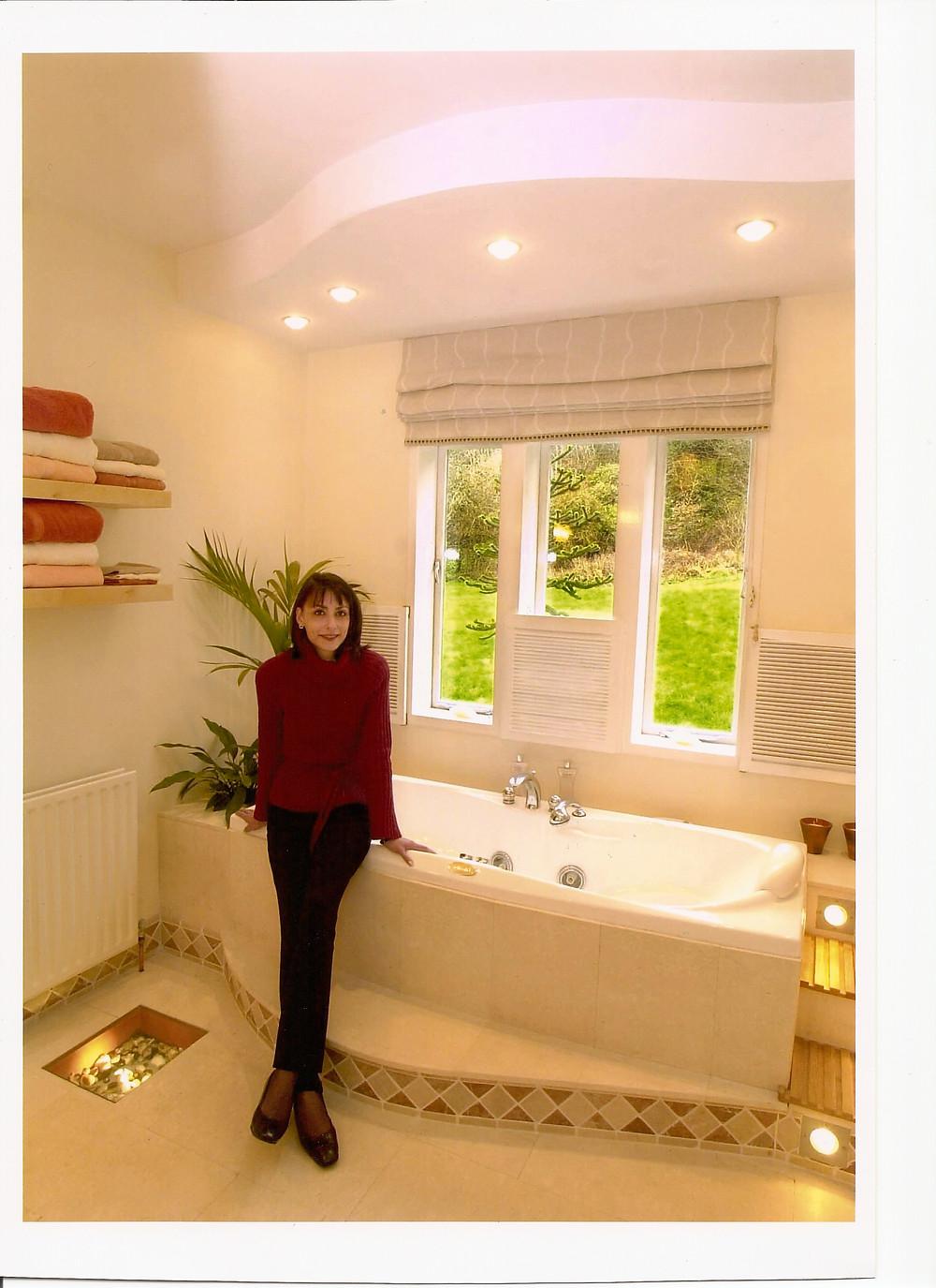 Spa Bathroom Photo Courtesy of Nina Kati