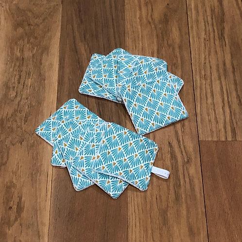 Vintage Bleu x 10 petits