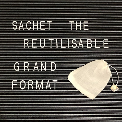 Grand Sachet de thé Réutilisable