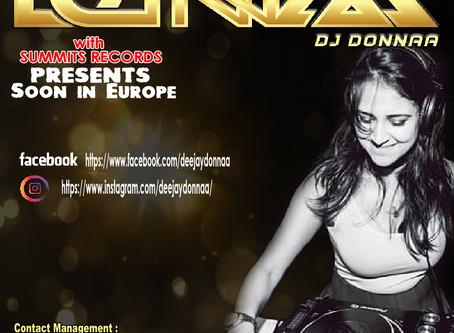 Dj Donnaa est une Dj producteur et Auteur,Interprete..