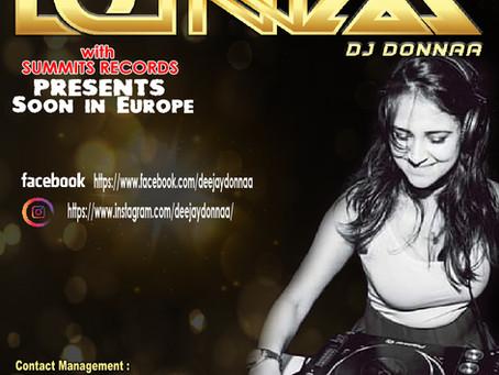 Dj Donnaa est une Dj producteur et Chanteuse