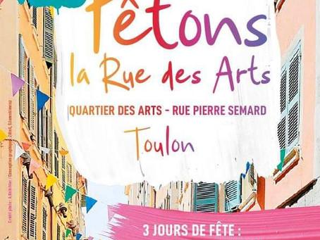 Fêtons ensemble la Rue des Arts à Toulon !