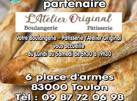 Nouveau partenaire L'atelier Original à Toulon